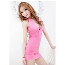 XITAO с открытыми плечами, сексуальное облегающее платье для Для женщин летом плюс Размеры пикантные вечерние ночное сексуальное мини платье ...(Китай)