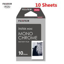 Fujifilm Instax Mini Film Mini 9 фотобумага 10 листов белый монохромный Радужный Макарон Для Мгновенной Печати Mini 7s 8 70 90 пленка для камеры(Китай)