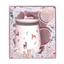 Никогда не канцелярские принадлежности с рождественской тематикой, подарок, канцелярские товары, керамическая чашка с крышкой, кофейная ча...(Китай)