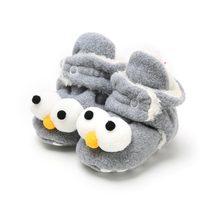 Новая детская обувь, носки для мальчиков и девочек, зимние теплые ботиночки, Нескользящие, для малышей, мягкие, для новорожденных, пинетки(China)