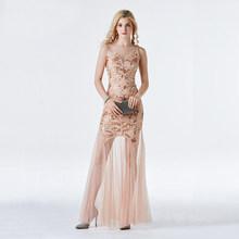 YIDINGZS длинное вечернее платье с блестками и бисером, Формальное вечернее платье, 2020(Китай)