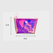 Блестящий Карандаш Чехол, креативный лазерный прозрачный ПВХ пенал на молнии для девочек, подарок, школьные принадлежности, корейские Канц...(Китай)