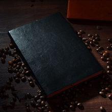 Офисный деловой ноутбук, Классическая книга для журнала, коричневый/черный для детей, подарки(Китай)