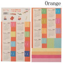 2 шт., календарные наклейки 2020 года, маркеры, аксессуары для журналов, декоративные наклейки, наклейки, календарь, Канцтовары(Китай)