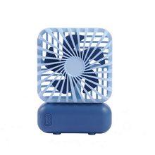Мини портативный ручной электрический вентилятор, кондиционер, охлаждающий вентилятор, летний Настольный охлаждающий вентилятор с USB заря...(Китай)