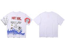 11 BYBB'S DARK футболка с изображением инопланетян, принт в стиле хип-хоп, футболки для мужчин Harajuku 2020, уличная одежда, футболки для скейтборда, пов...(Китай)