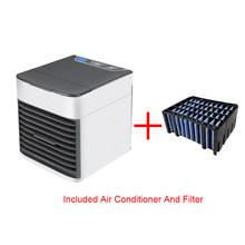 Мини портативный кондиционер вентилятор настольный Usb кондиционер воздушный вентилятор охладитель Arctic охлаждающий увлажнитель очистител...(Китай)