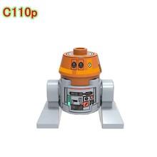 Legoing Star Wars Набор фигурок сверхмощный Боевой Дроид модель игрушки BB8 фигурка Starwar R2D2 блоки K-2SO Starwars Legoing Technic(Китай)