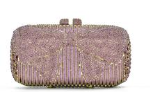 Роскошные вечерние сумки знаменитостей с серебряными бриллиантами, клатч для женщин, невесты, свадьбы, вечеринки, Кристальные кошельки, сум...(Китай)