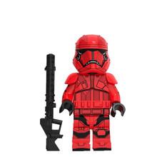 Kylo Ren Legoed Звездные Войны Имперский ребенок йода мандалориан Рей Финн Палпатин люк строительные блоки Скайуокера детская игрушка подарок WM889(Китай)