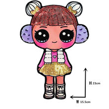 Мультяшные нашивки, женская мода, LoL кукла для девочек, милая Модная Кукла для мальчиков, вышивка, нашивка, сделай сам, украшение одежды, блес...(Китай)