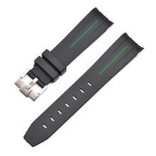 Ремешок для часов регулируемый силиконовый ремешок для наручных часов сменные аксессуары для часов(Китай)