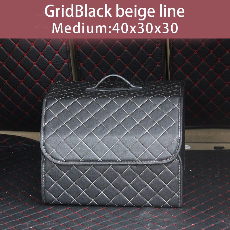 Многоцелевой органайзер для багажника автомобиля автосумка в багажник из искусственной кожи, Складной автомобильный багажник, коробка для...(Китай)