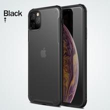 Противоударный чехол для телефона Rock для iPhone 11 Pro Max, чехол для iPhone XR XS X 7 8 Plus, прозрачный чехол, матовый чехол(Китай)