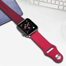 Кожаный ремешок для apple watch band apple watch 5 4 band 42 мм/38 мм iwatch band 44 мм/40 мм pulseira браслет ремешок для часов 5 4 3 2 ремень(Китай)