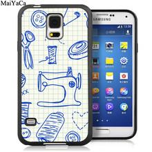 MaiYaCa швейная машина портной мягкий резиновый чехол для телефона для samsung Galaxy S5 S6 S7 edge S8 S9 S10 Plus Lite Note 8 9 задний Чехол(Китай)