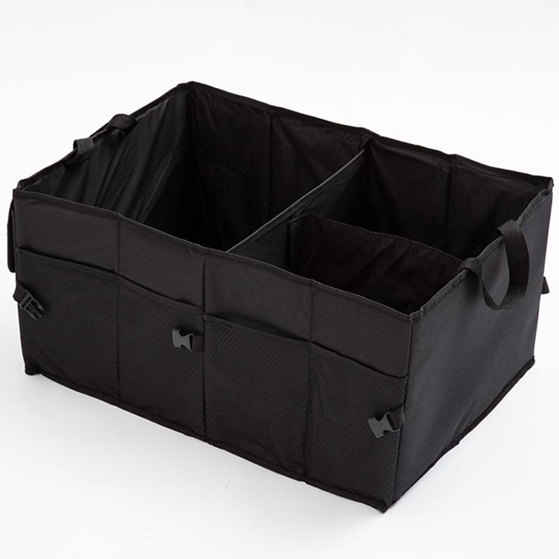 Автомобильный органайзер для багажника экологичный супер прочный и прочный водонепроницаемый складной грузовой ящик для хранения для авт...(Китай)
