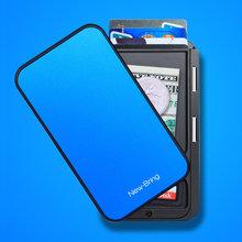 Новый держатель для карт мужской кошелек из углеродного волокна минималистичный Rfid кошелек для кредитных карт Банк бизнес ID держатель для ...(Китай)