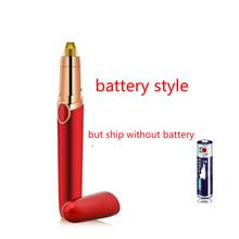 Электрический эпилятор для лица, для удаления бровей, для макияжа, безболезненный триммер для бровей, мини, для бровей, мгновенная портативн...(Китай)