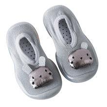 Обувь для малышей; обувь для новорожденных девочек с кроликом; мягкая резиновая подошва; носки; тапочки; чулки для маленьких девочек; Chaussure ...(China)