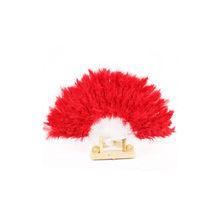 40 # хороший веер из перьев для танцевальных реквизитов, складной веер из гусиного пера для свадьбы, прекрасные разные цвета на выбор(Китай)