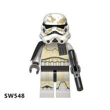 Детский йода Legoed Звездные Войны Имперский мандалор Рей Кайло Рен Финн Палпатин люк строительные блоки Скайуокера детская игрушка подарок ...(Китай)