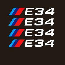 Автомобильные шины и обода Aliauto 4 X, наклейки, аксессуары для BMW 1, 3, 5, серии X1, X3, X5, X6, M3, M5, E30, E34, E36, E39, E46, E60, E90(Китай)