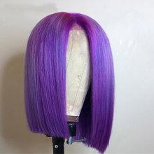 Парик из натуральных волос Блонд, красный, розовый, 13X4, 13X6(Китай)