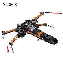 810 шт Звездные войны сопротивление бомбардировщик набор строительный блок модель подъем Skywalke периферийные кирпичи игрушки сделай сам для д...(China)