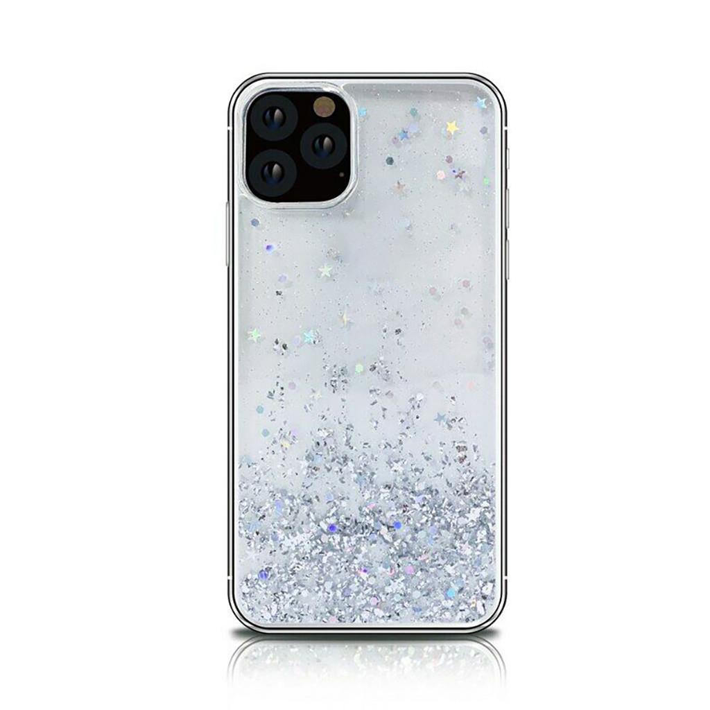Чехол для iphone 11 Pro Max 6,5 дюйма, чехол, прозрачный защитный чехол с жидким зыбучим песком и блестящими блестками(Китай)
