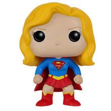 FUNKO POP DC Comics Super Heroes Supergirl 92 # ПВХ Фигурки Коллекционная модель игрушки для детей Рождественский подарок на день рождения(Китай)