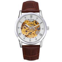 2019 Neue WLISTH Мужские Роскошные автоматические машины гибкие точные механические часы Корона светящиеся знаки циферблат Rolex_watch(Китай)