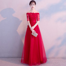 Тост невесты 2020 осень и зима беременных женщин, как правило, можно носить тонкое платье, чтобы прикрыть живот(Китай)