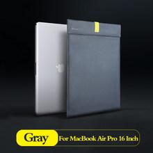 Сумка для ноутбука Baseus, чехол для Macbook Air Pro, 13, 14, 15, 16 дюймов, Mac Book, чехол из искусственной кожи, чехол для ноутбука, компьютера, чехол, Fundas(Китай)