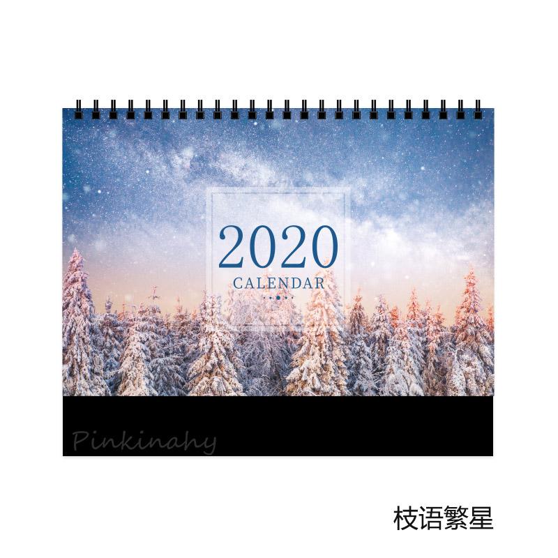 2020 милые растения кактус милые девушки календари Настольный календарь Памятка ежедневный график Таблица планировщик годового дня Органай...(Китай)