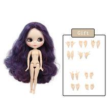 Кукла Blyth, Обнаженная, шарнирная с ручным набором, A & B 1/6 BJD, модная Кукла, подходит для самостоятельного макияжа, специальная цена(Китай)