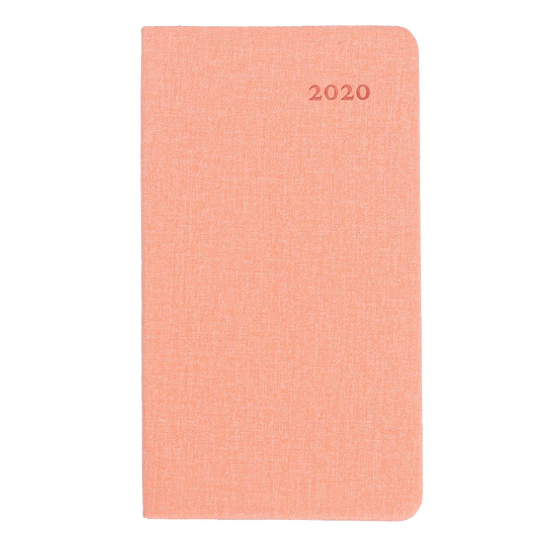 A6 2020 календарь, ежемесячный планировщик, ежедневный календарный план, записные книжки с 52 страницами для домашнего офиса, студенческие прин...(Китай)