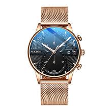 Мужские спортивные часы NEKTOM, кварцевые аналоговые часы в военном стиле со стальным кварцем, новинка 2019(Китай)