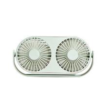 Вентилятор для пар с двойным мотором, Складной вентилятор USB с вращением на 360 градусов, регулируемая скорость, Официальный вентилятор с аро...(China)