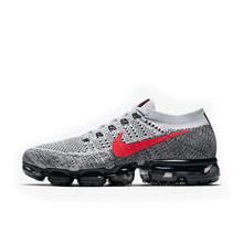 Оригинальный Официальный Nike Air VaporMax Be True Flyknit дышащая мужская обувь для бега на открытом воздухе спортивные кроссовки с низким верхом спорти...(Китай)