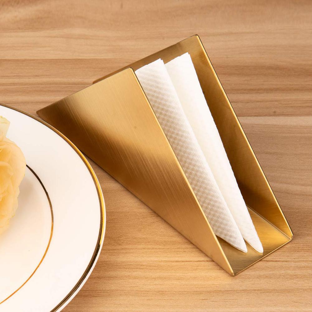 dispensador de servilletas de acero inoxidable para barra de restaurante de cocina Servilletero para mesas 4.72 x 1.18 x 3.39 in