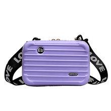 Роскошные ручные сумки для женщин, новинка 2020, сумка в форме чемодана, модная маленькая багажная сумка для женщин, известный бренд, клатч, су...(Китай)