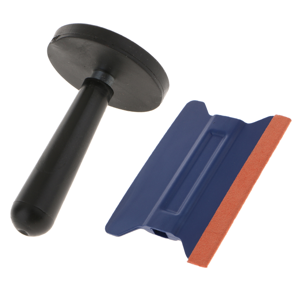 1 Set Car Wrap Vinyl Film Install Fix Tool Gripper Magnet Holder & Squeegee For Auto Body Color-changing Wrapping Film Install