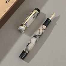 KAIGELU 316 акриловая авторучка золотой зажим Экстра тонкая/средняя перо EF/M письмо(Китай)