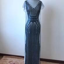 Супер маленькие золотые блестки патчи отделка аппликация для платья одежда аксессуар 58*15 дюймов(Китай)
