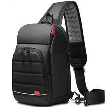 Многофункциональные сумки через плечо для мужчин, зарядка через usb, нагрудный пакет, Короткие походные мессенджеры, нагрудная сумка, водоот...(Китай)