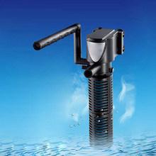 3 Вт/5 Вт Водонепроницаемый мини 3 в 1 Многофункциональный очиститель для аквариума качественный бак Фильтр штепсельная вилка США (220 В)(Китай)