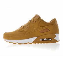 Мужские Оригинальные кроссовки для бега от NIKE AIR MAX 90, удобные, прочные, дышащие, 537384-129(Китай)