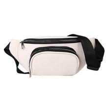 Модная поясная сумка для женщин 2020, поясная сумка из искусственной кожи, брендовая сумка с банановым ремнем, многофункциональные Женские по...(Китай)