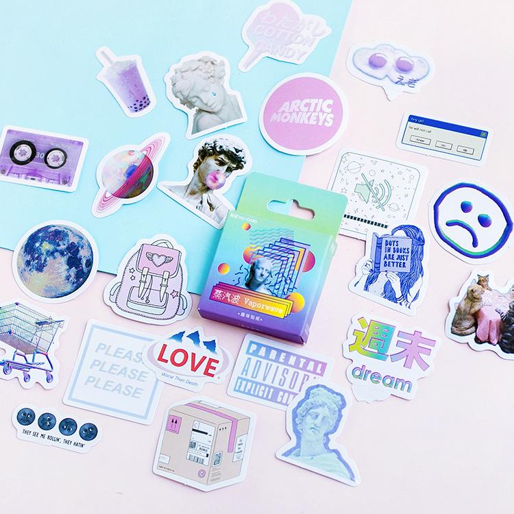 Новинка 2020, креативная розовая лента для девушек Васи, практичная бумажная Планерная наклейка, декоративная канцелярская лента, маскирующа...(Китай)